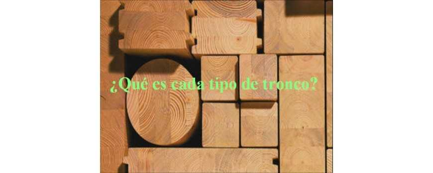 ¿Qué es cada tipo de tronco?