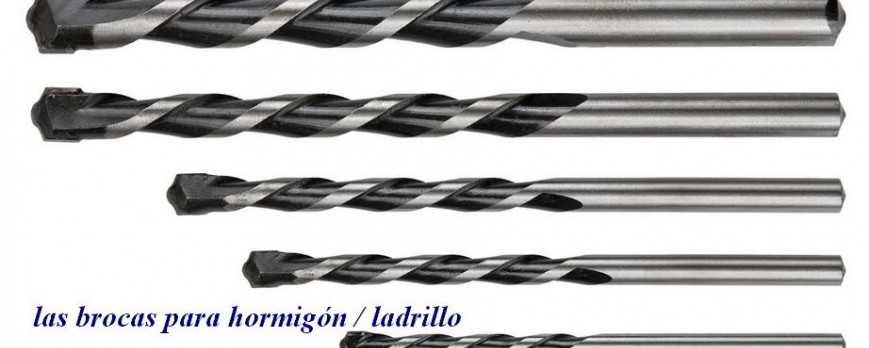Las brocas para hormigón / ladrillo